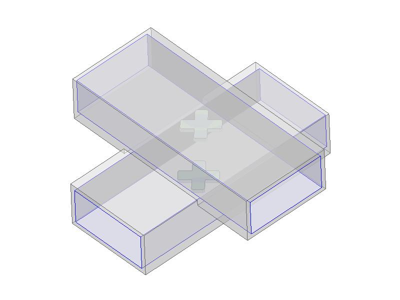 Cross-guide directional coupler